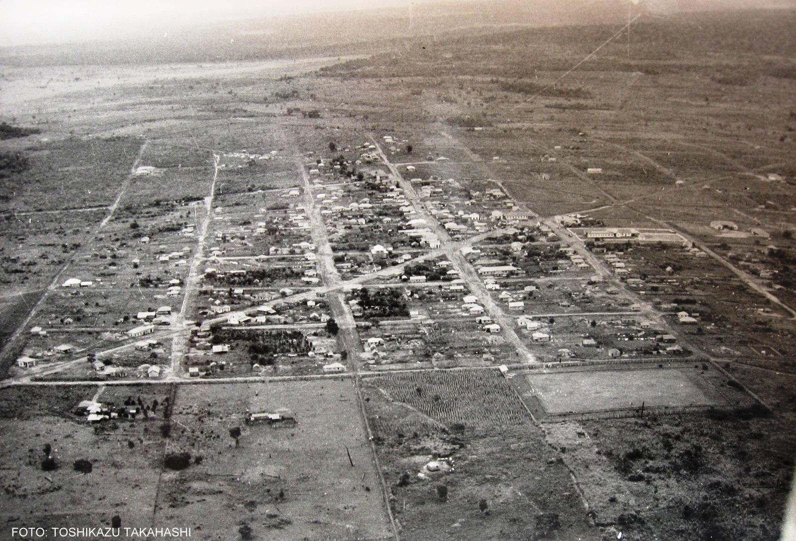 Em 1950, Paranavaí ainda era distrito de Mandaguari (Foto: Toshikazu Takahashi)