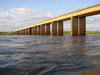 Peças também são encontradas embaixo da ponte que separa Jardim Olinda, no Paraná, de Teodoro Sampaio, em São Paulo (Crédito: Prefeitura de Jardim Olinda)