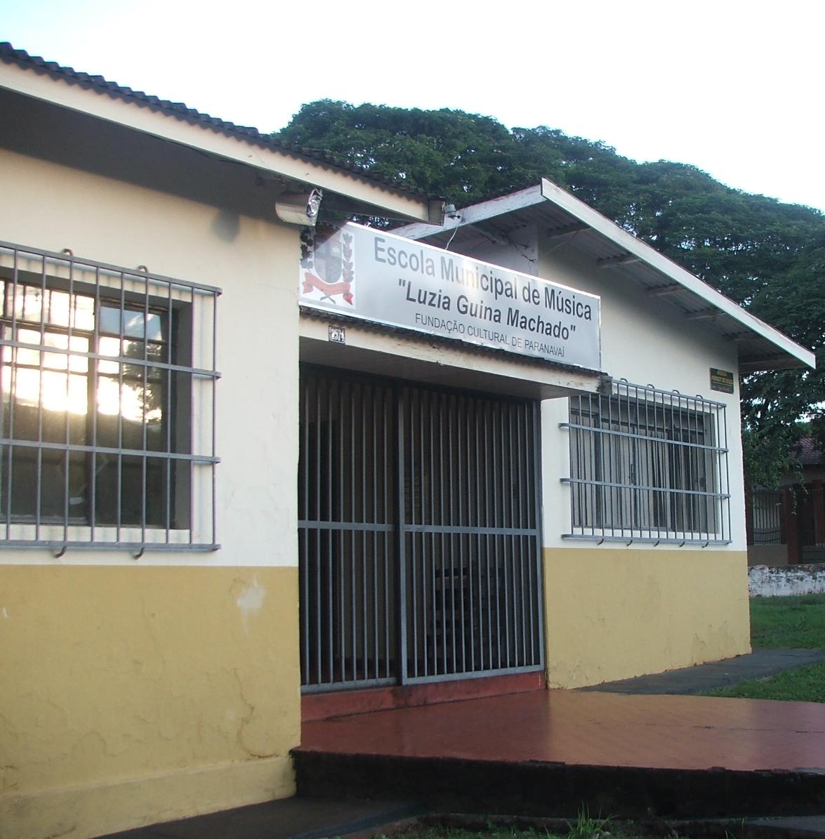 Espaço agora abriga Escola Municipal de Música Luzia Guina Machado (Crédito: David Arioch)