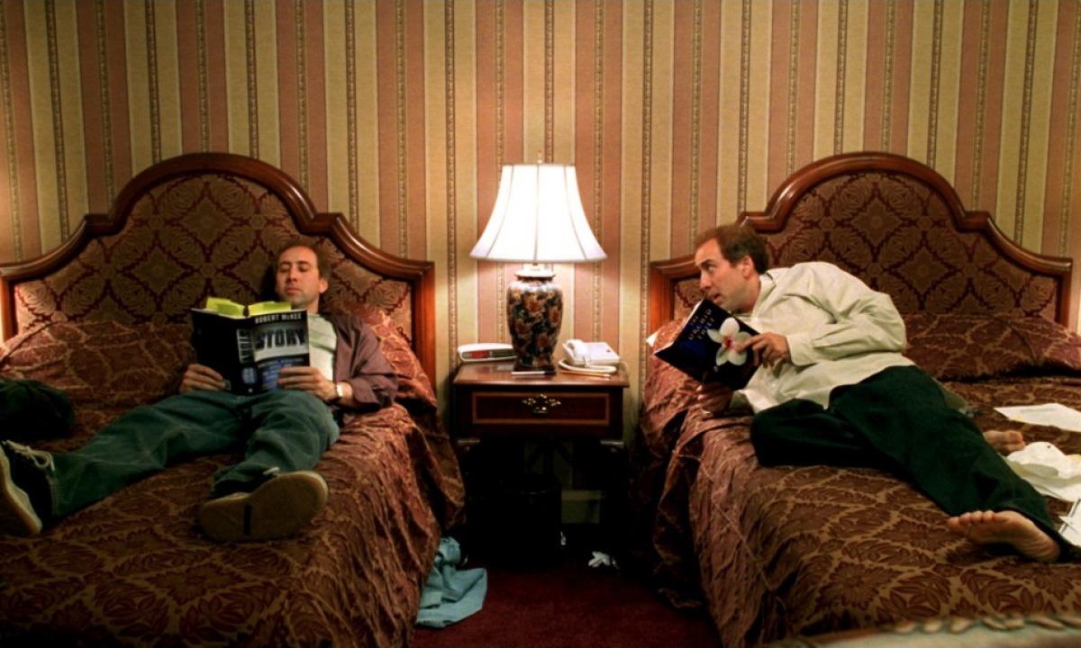 Nicolas Cage interpreta o próprio roteirista do filme (Foto: Reprodução)