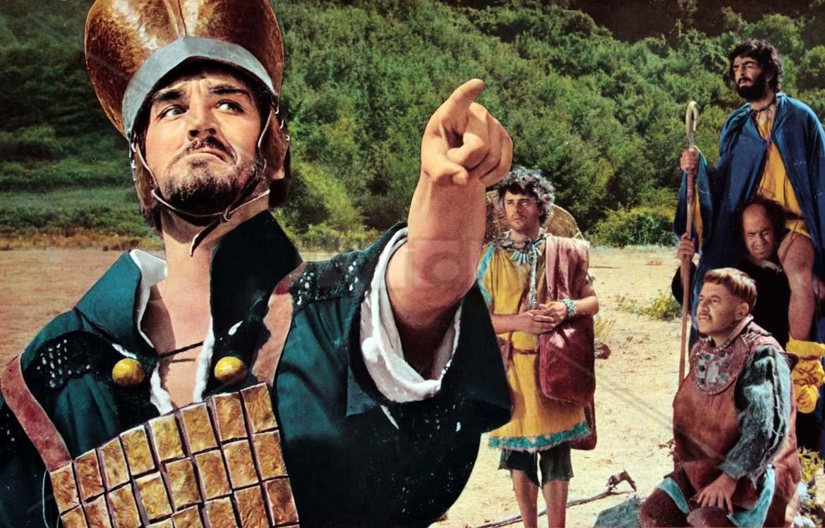 Vittorio Gassman revive Bracaleone no clássico de 1970 (Foto: Reprodução)