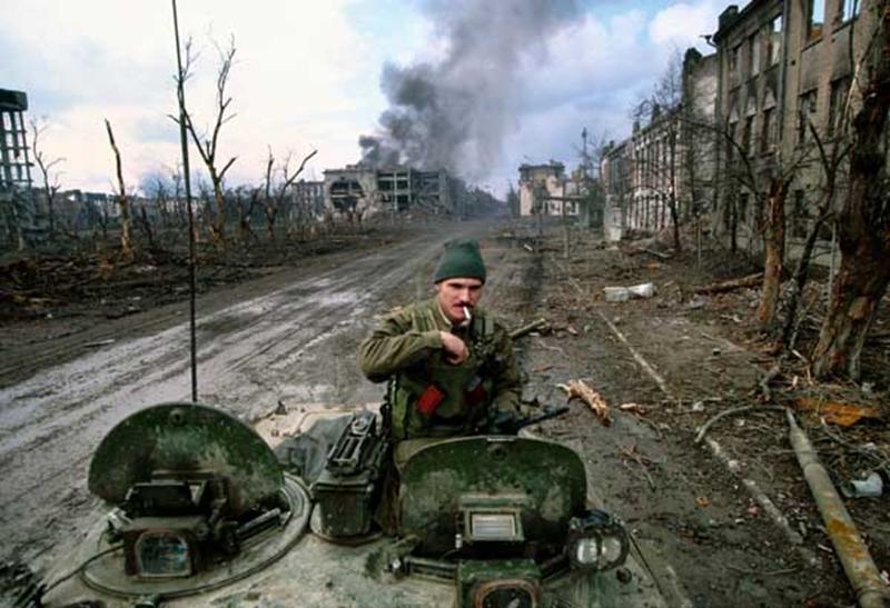 Os enormes estragos da Guerra na Tchetchênia (Foto: Reprodução)