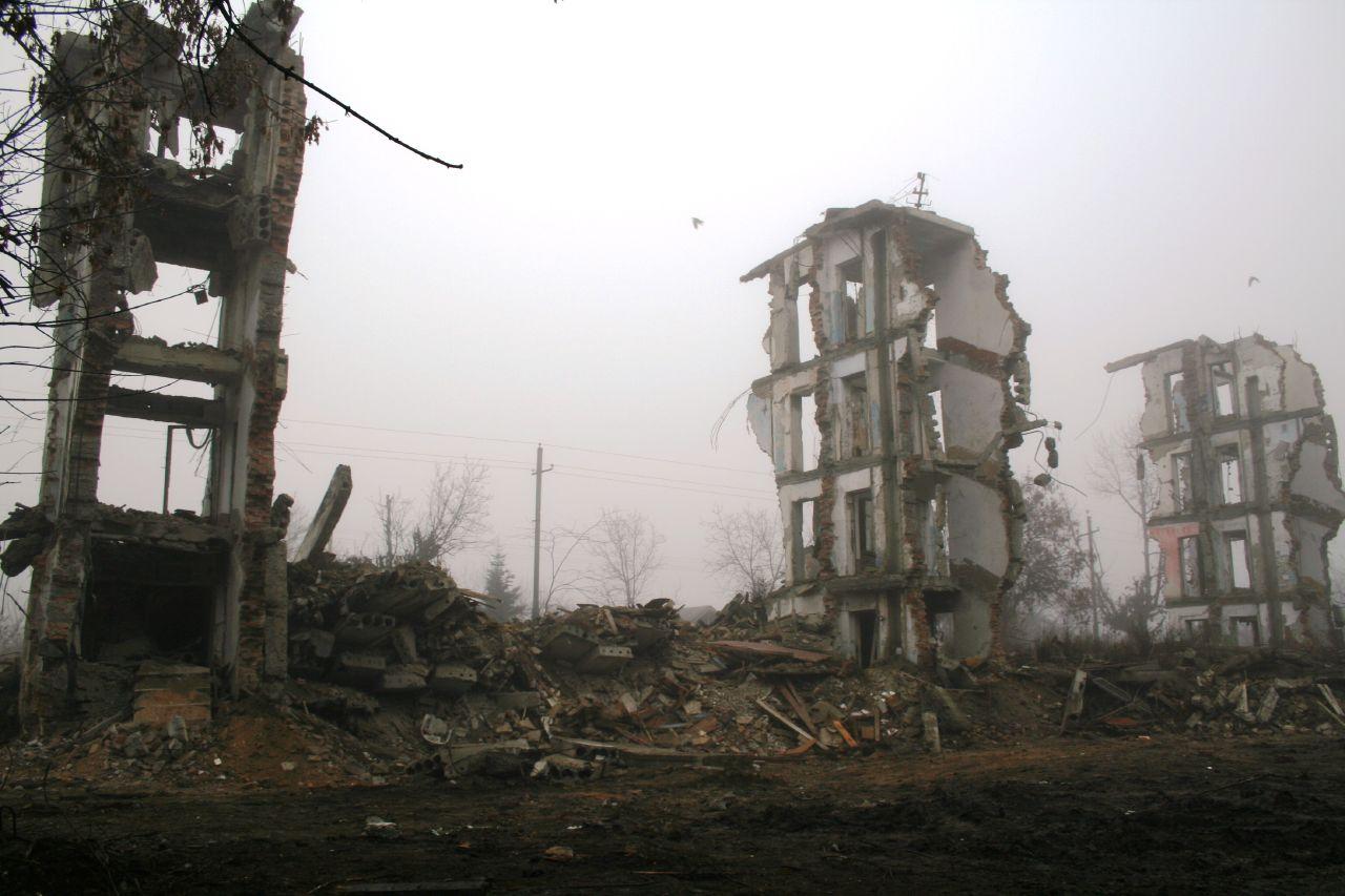 Grozny depois de destruída pelo Exército Russo (Foto: Reprodução)