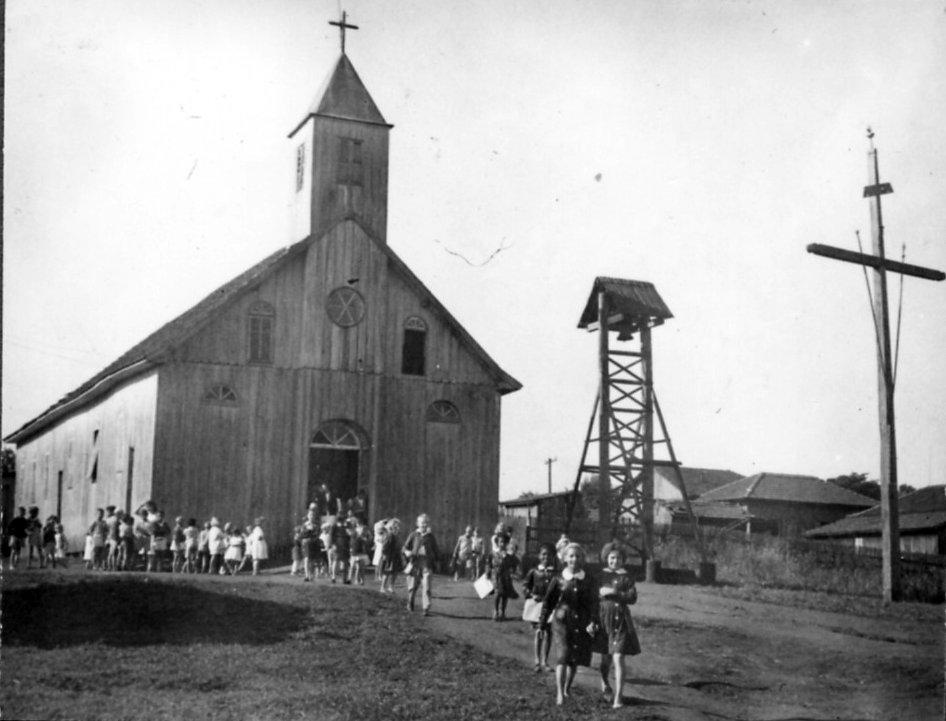 Em 1953, Graciosa já contava com mais de 200 famílias (Foto: Reprodução)