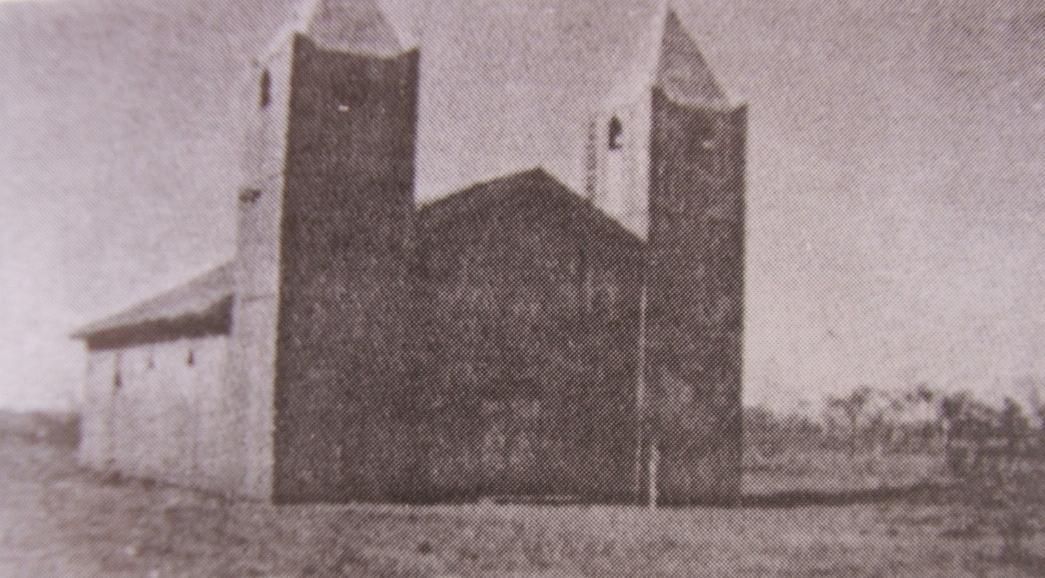 Antiga Igreja Matriz, cenário do conflito que envolveu centenas de pessoas (Foto: Reprodução)