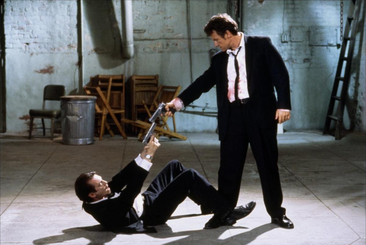 Steve Buscemi e Harvey Keitel em cena antológica (Foto: Reprodução)