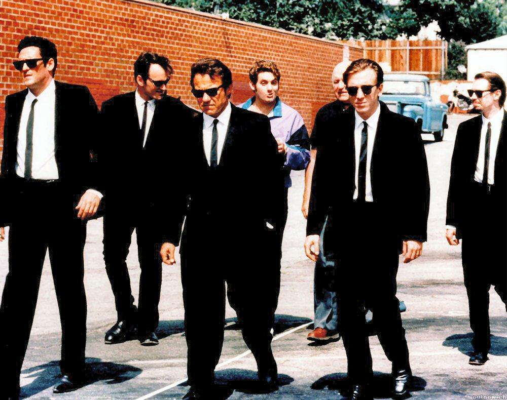Em Reservoir Dogs, Tarantino explora a violência e a ironia (Foto: Reprodução)