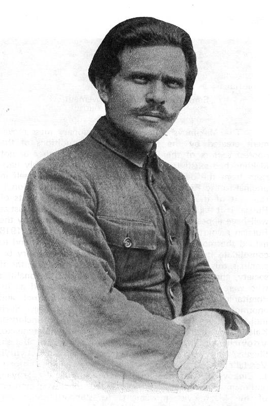 Nestor Makhno, líder russo perseguido pelos soviéticos até 1921 (Foto: Reprodução)
